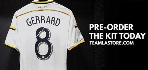 Lo ao dau cua Steven Gerrard tai La Galaxy hinh anh
