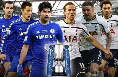 Chelsea vs Tottenham 23h00 ngay 13 chung ket Capital One Cup hinh anh