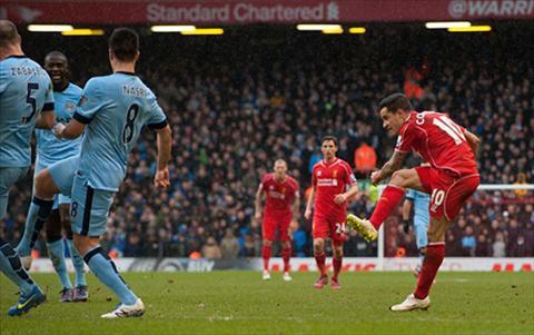 Diem tran Liverpool 2-1 Man City Tuyet voi Philippe Coutinho hinh anh