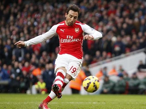 Hang cong Arsenal thay doi nho so 6 Cazorla hinh anh