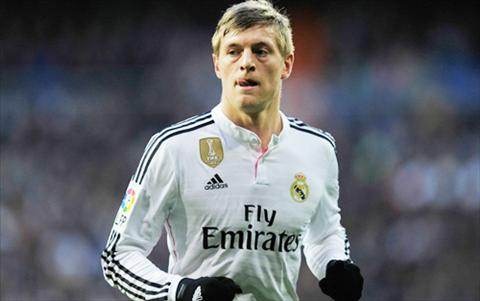 Toni Kroos cua Real Madrid hinh anh