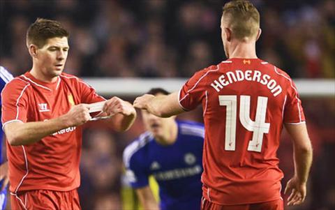 Jordan Henderson cua Liverpool khen ngoi Steven Gerrard hinh anh