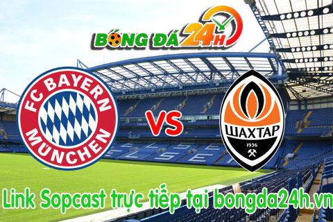 Link sopcast Bayern Munich vs Shakhtar Donetsk vong 18 Champions League(02h45-1203) hinh anh