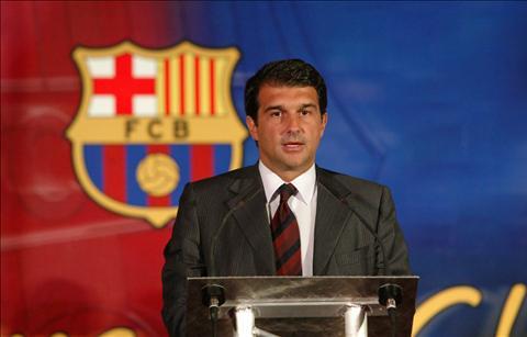Joan Laporta dang la ung vien so 1 cho chuc chu tich o Barca.