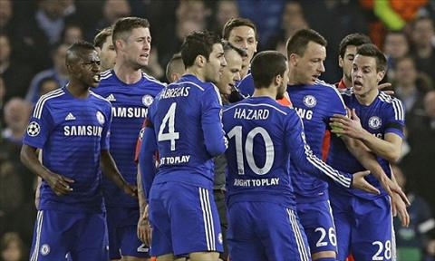 Hanh vi xau xi trong tran Chelsea vs PSG bat ngo duoc bao ve hinh anh