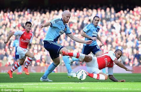 Phao thu Arsenal ung dung ban gay bua ta West Ham tren tran dia Emirates hinh anh 2