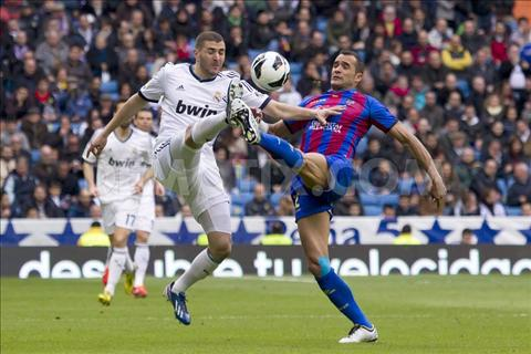 Real vs Levante hinh anh