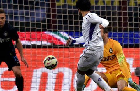 Video ban thang Inter 0-1 Fiorentina (Vong 25 Serie A 2014-2015) hinh anh