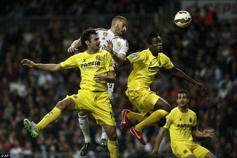 Video ban thang Real Madrid 1-1 Villarreal (Vong 25 La Liga 2014-2015) hinh anh