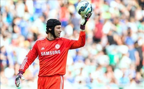 Petr Cech cua Chelsea cap ben PSG hinh anh