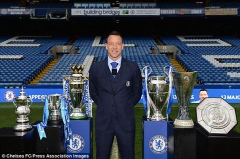 Chelsea gia han voi Terry Bai hoc tu Frank Lampard hinh anh