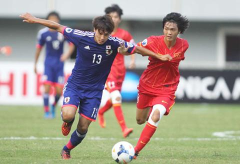 U23 Viet Nam vs U23 Nhat Ban (19h15 293) Mo ve dia chan hinh anh