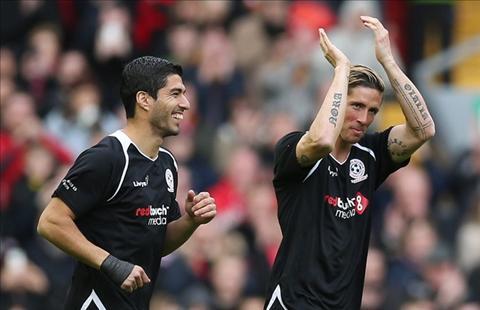 Torres va Suarez xuc dong trong ngay tro lai Anfield hinh anh