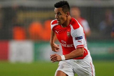 Giai phap ket hop Sanchez va Oezil tren hang cong Arsenal hinh anh