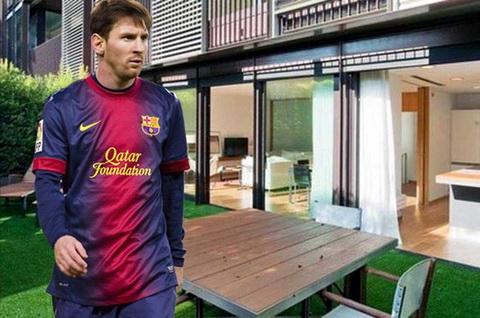 Nghe tay trai hai ra tien cua Lionel Messi va dan sao Barcelona  hinh anh