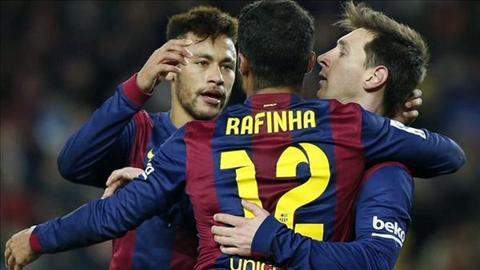 Truoc vong 26 La Liga Barca lat do Real, Atletico tach top hinh anh