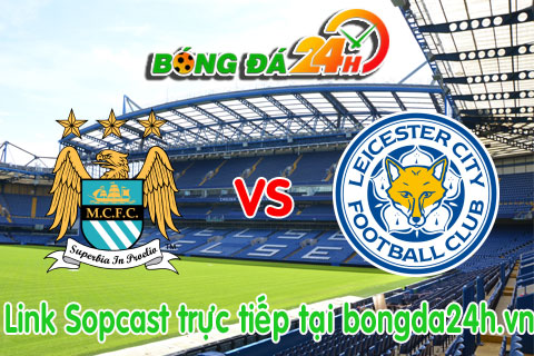 Mancity vs Leicester hinh anh