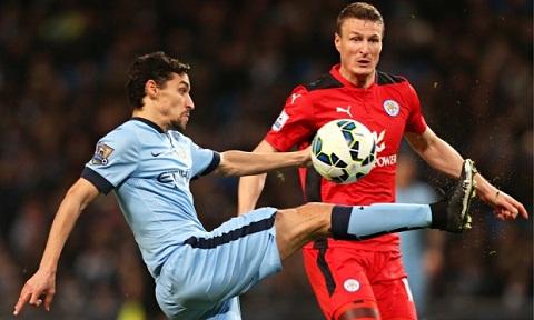 Du am tran Man City vs Leicester Silva la cuu tinh cua The Citizens hinh anh 3