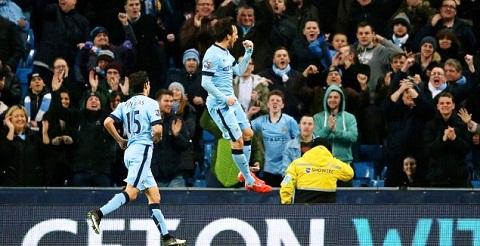 Du am tran Man City vs Leicester Silva la cuu tinh cua The Citizens hinh anh