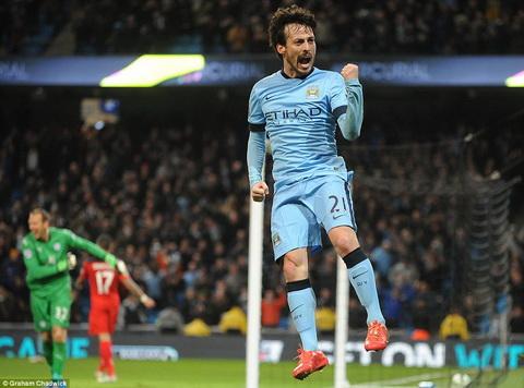 Truc tiep bong da Man City vs Leicester vong 28 Ngoai hang Anh 201415 hinh anh