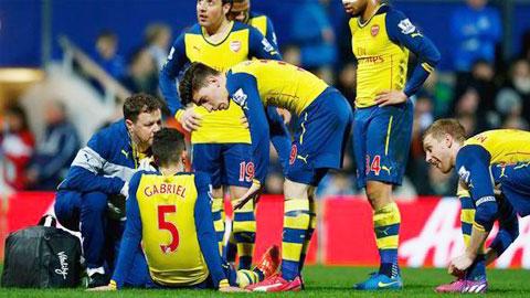 Arsenal chinh thuc thiet quan truoc dai chien voi Man Utd