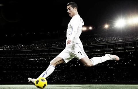 Ronaldo sut phat hinh anh