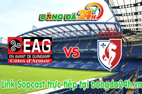 Guingamp vs Lille hinh anh
