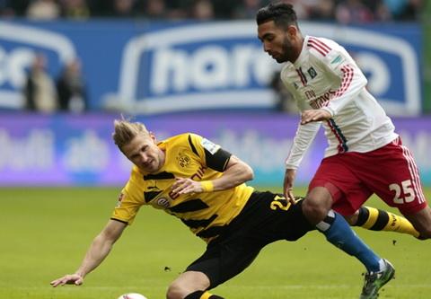 Hamburg 0-0 Dortmund Dut mach thang hinh anh