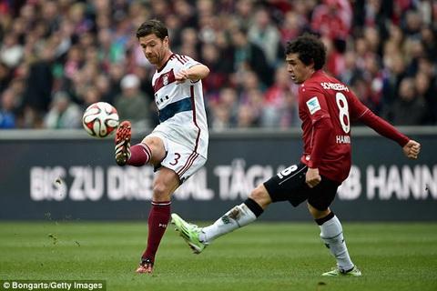 Hannover 1-3 Bayern Munich Hum xam de dang loi nguoc dong hinh anh
