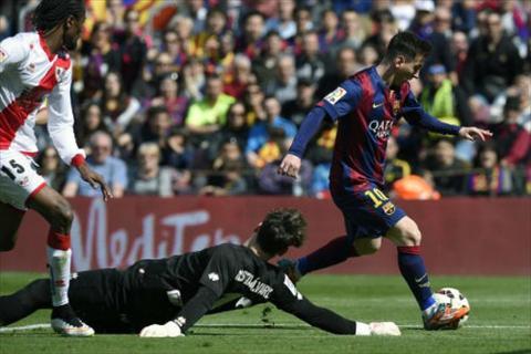 Video ban thang Barca 6-1 Rayo Vallecano (Vong 26 La Liga 2014-2015) hinh anh