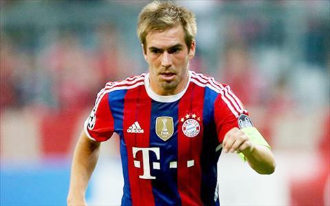 Bayern nhan tin vui Philipp Lahm tro lai tap luyen hinh anh