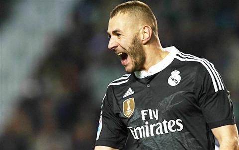 Benzema cua Real Madrid hinh anh
