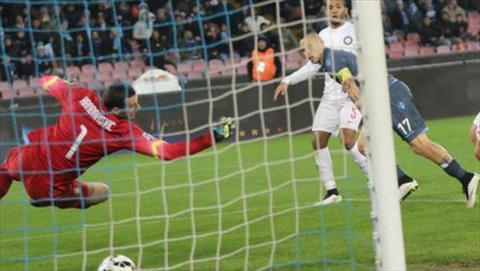 Video ban thang Napoli 2-2 Inter (Vong 26 Serie A 201415) hinh anh