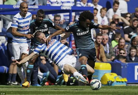 Chelsea vo dich Premier League mua 201415 hinh anh