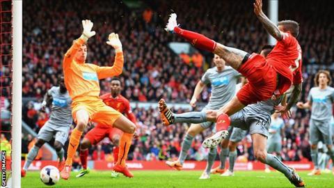 Liverpool vs Newcastle hinh anh