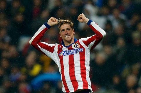 Torres ham nong khong khi tran Atletico Madrid vs Real Madrid hinh anh