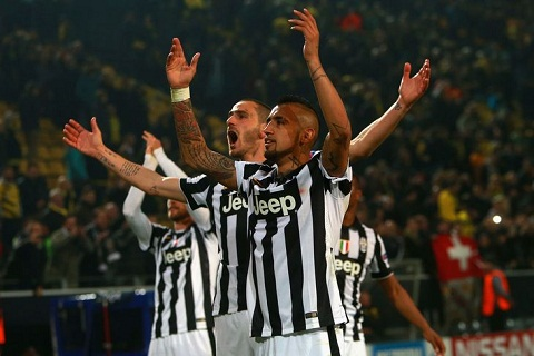 Vo dich Champions League va Juventus se chinh thuc tro lai hinh anh
