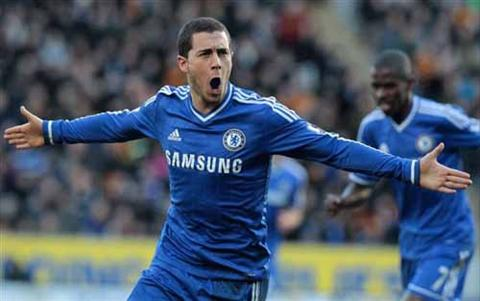 Eden Hazard xuat sac nhat Premier League hinh anh