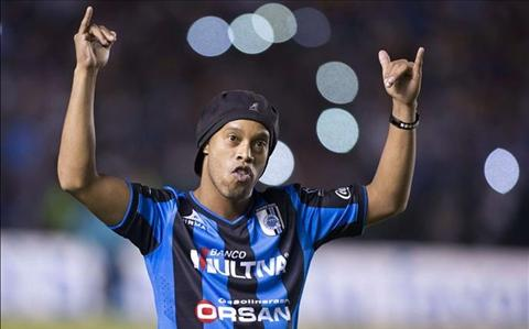 Ronaldinho len ke hoach giai nghe hinh anh