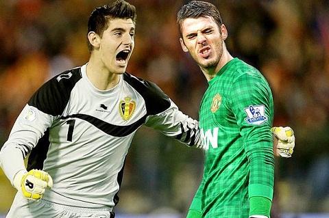 Chelsea vs M.U De Gea hay Courtois hinh anh 2