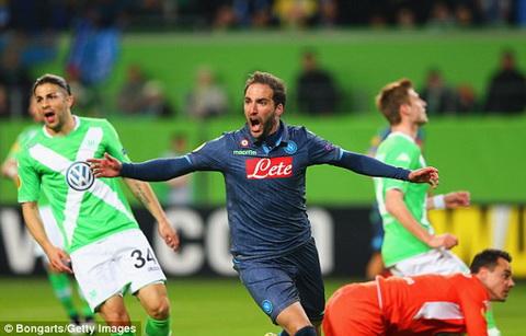 Truc tiep bong da Wolfsburg vs Napoli tu ket Europa League 2014-2015 hinh anh