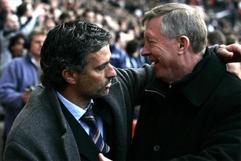 Mourinho va Alex Ferguson co moi giao thiep rat dac biet.