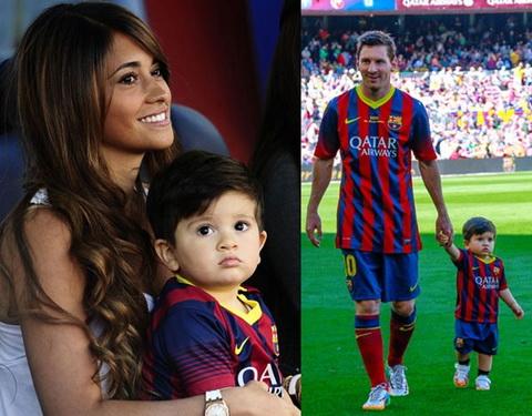 Con trai Thiago cua Messi co y nghia cuc to lon voi ngoi sao Barca hinh anh