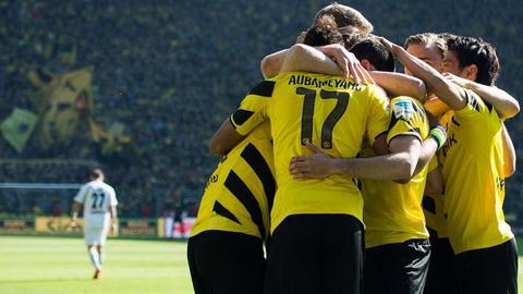 Dortmund 3-0 Paderborn: Ap sat nhom du cup chau Au