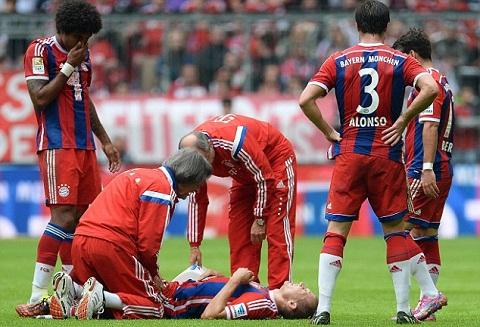 Thong ke: Bayern Munich vo doi chau Au ve… chan thuong