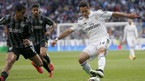 Chicharito la nhan to bi an tren hang cong Real Madrid hinh anh