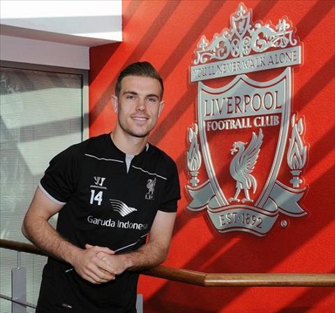 Jordan Henderson doi bang duoc bang thu quan Liverpool hinh anh