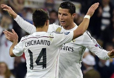 Sau tran Real 1-0 Atletico Tat ca no James va Ronaldo mot loi cam on hinh anh