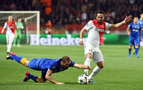 Truc tiep Monaco vs Juventus tu ket Champions League 2014-2015 hinh anh