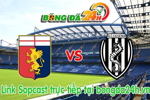 Link sopcast Genoa vs Cesena (20h00-2604) hinh anh